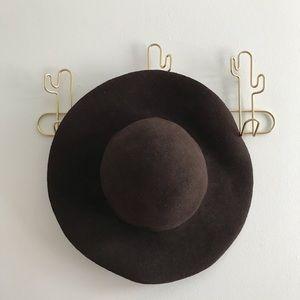 100% Wool Wide Brim Floppy Hat
